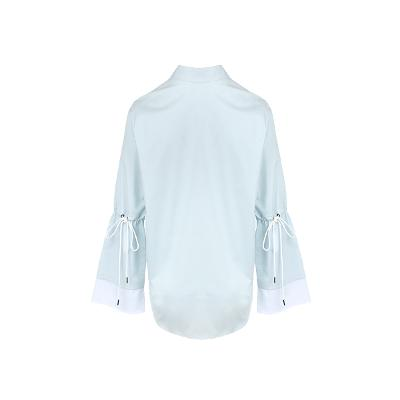 flare sleeve shirt skyblue2